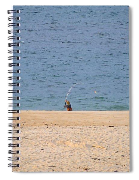 Surf Caster Spiral Notebook