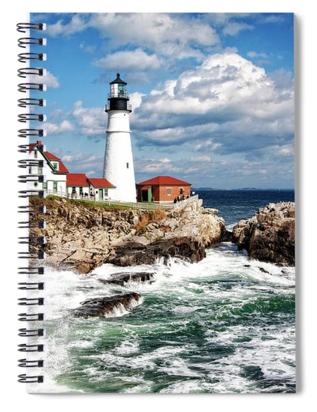 Surf Meets Land Spiral Notebook