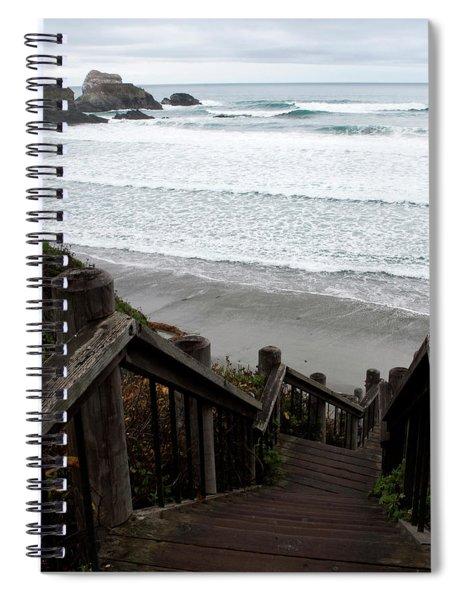 Surf Stairway Spiral Notebook