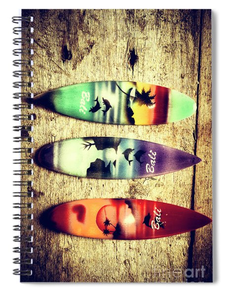 Surfers Parade Spiral Notebook
