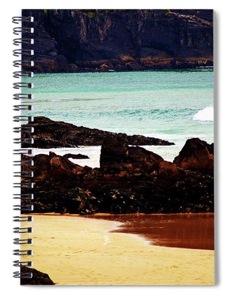 Surfing In Ireland Spiral Notebook