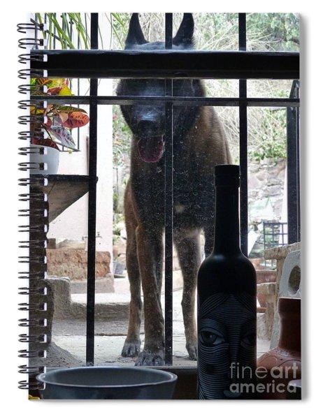 Surprise Visitor Spiral Notebook