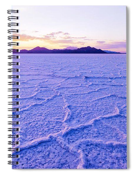 Surreal Salt Spiral Notebook
