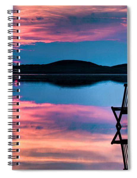 Surreal Sunset Spiral Notebook
