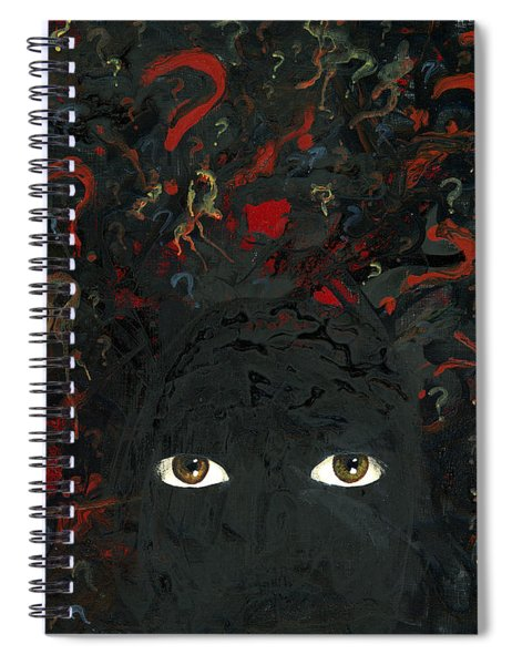 Surrounded By ? Spiral Notebook