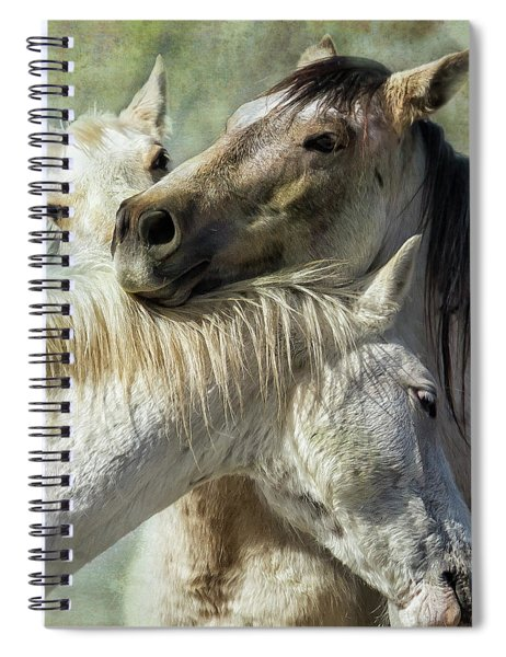 Surrounded By Love Spiral Notebook