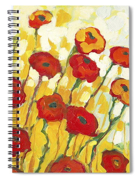 Surrounded In Gold Spiral Notebook