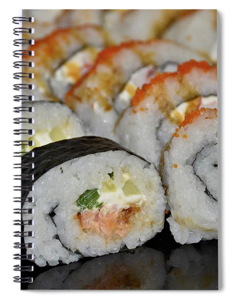 Sushi Rolls From Home Spiral Notebook