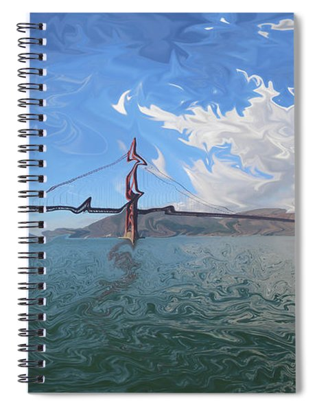 Suspension Of Reality Spiral Notebook