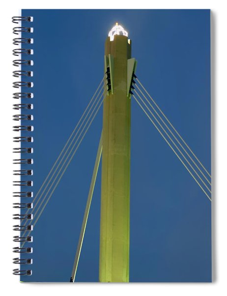 Suspension Pole Spiral Notebook