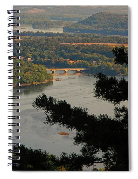 Susquehanna River Below Spiral Notebook