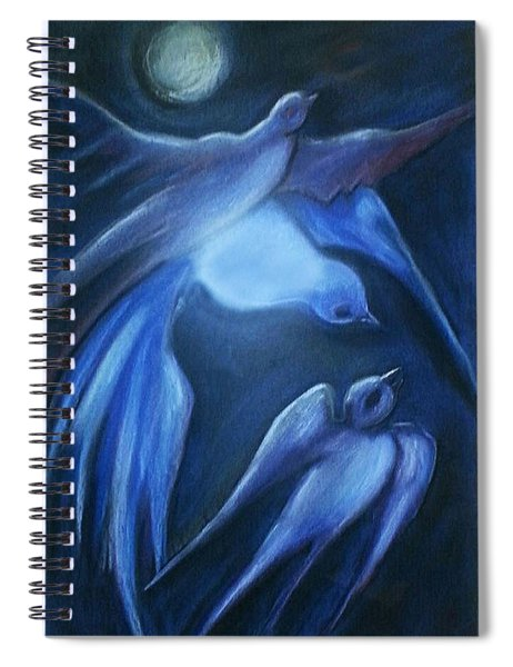Swallows Spiral Notebook
