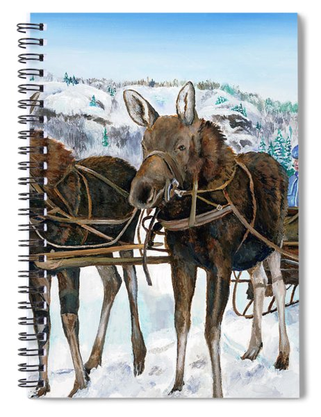 Swamp Donkies Spiral Notebook