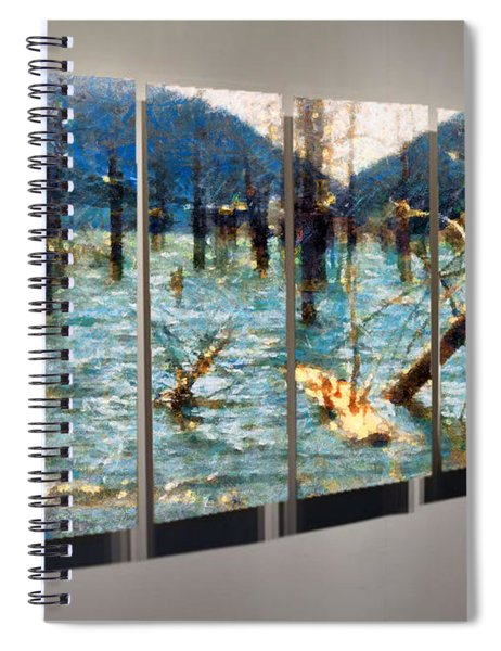 Swamp Life Spiral Notebook