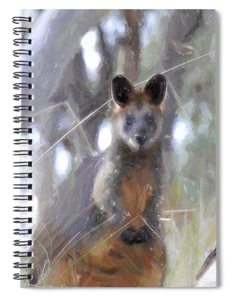 Swamp Wallaby Spiral Notebook
