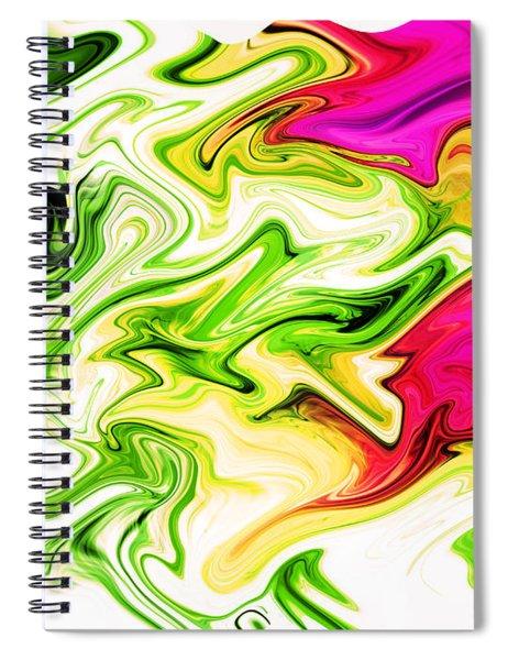 Sweeper Spiral Notebook