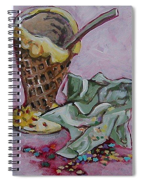 Sweet Afterglow Spiral Notebook