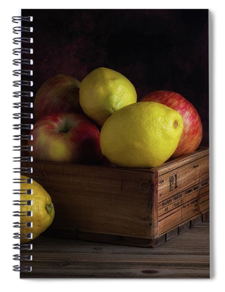 Sweet And Sour Fruits Still Life Spiral Notebook