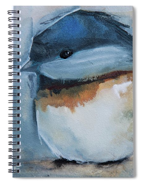 Sweet Chickadee Spiral Notebook