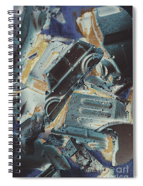Sweet Destruction Spiral Notebook