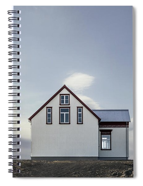 Sweet House Under A White Cloud Spiral Notebook