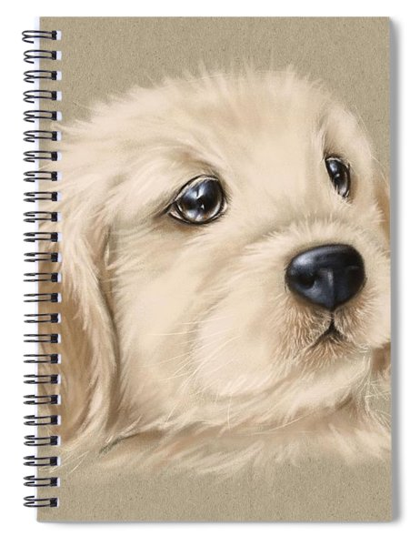 Sweet Little Dog Spiral Notebook