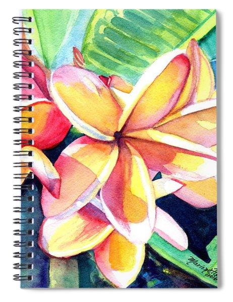 Sweet Plumeria 2 Spiral Notebook
