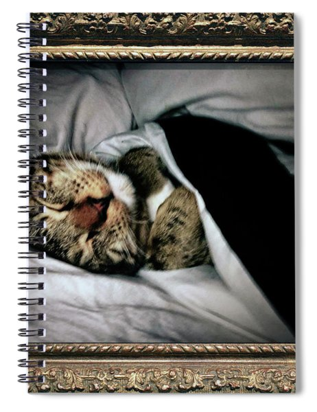 Sweet Simba Photo A8117 Spiral Notebook by Mas Art Studio