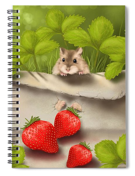 Sweet Surprise Spiral Notebook