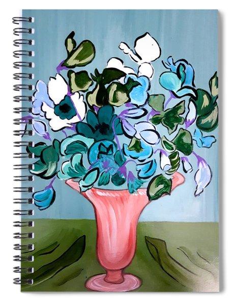 Sweetpeas Spiral Notebook