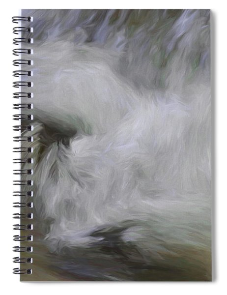 Swept Away  Spiral Notebook