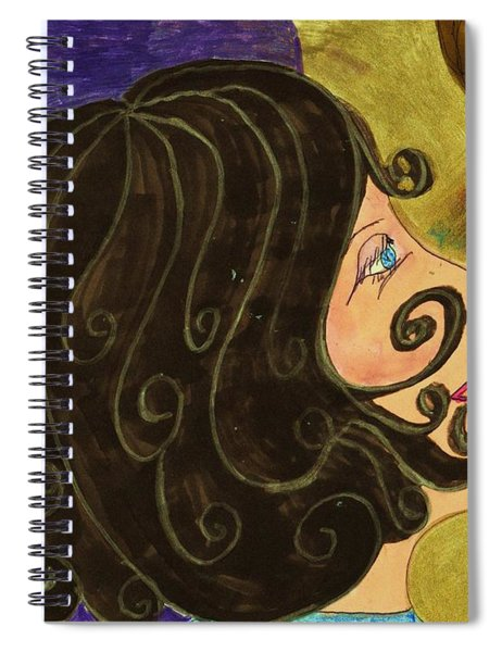 Swept Off My Feet Spiral Notebook