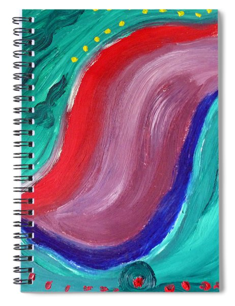 Swerve Spiral Notebook