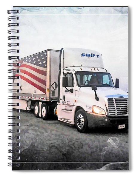 Swift Express  Spiral Notebook