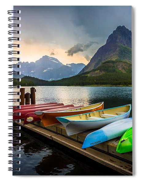 Swiftcurrent Canoes Spiral Notebook