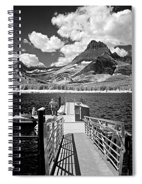 Swiftcurrent Lake 6 Spiral Notebook