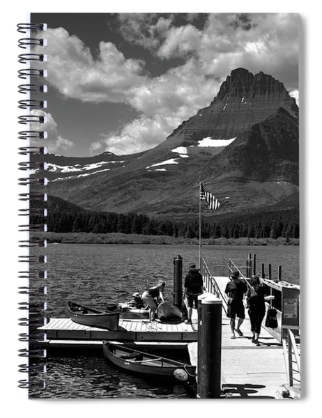 Swiftcurrent Lake 2 Spiral Notebook