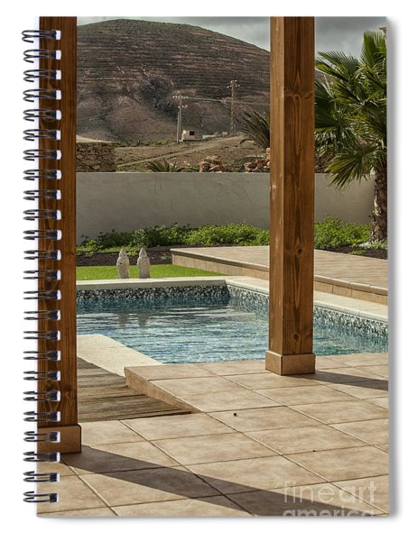 Swimming Pool With View Spiral Notebook