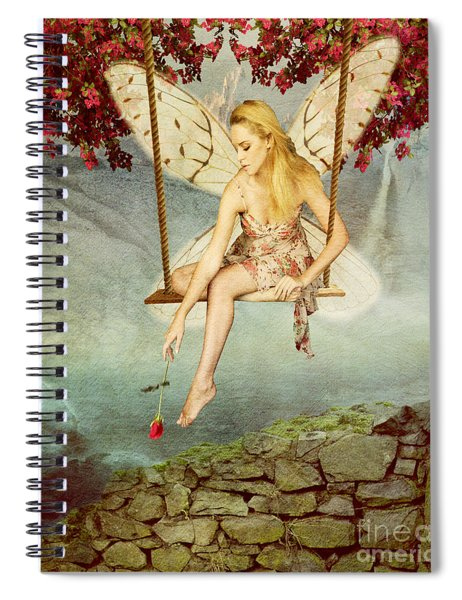 Swing Fairy Spiral Notebook