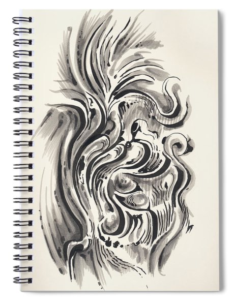 Swirl Spiral Notebook