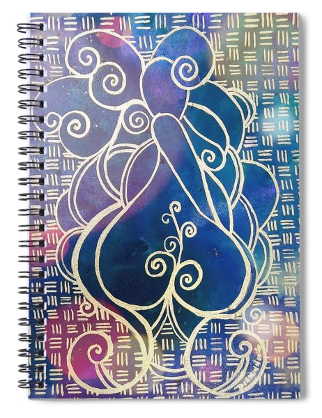 Swirl Thick Girl #2 Spiral Notebook