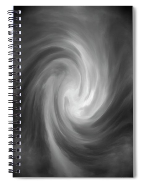 Swirl Wave Iv Spiral Notebook