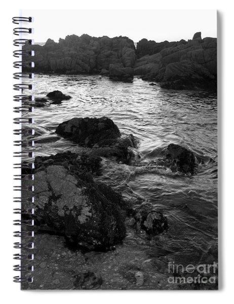 Swirling Tide Spiral Notebook