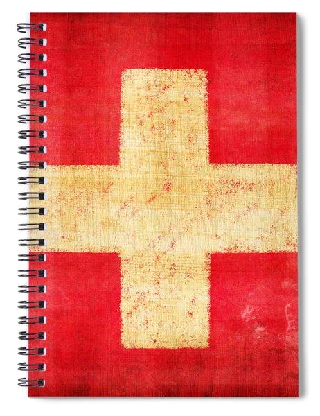 Switzerland Flag Spiral Notebook