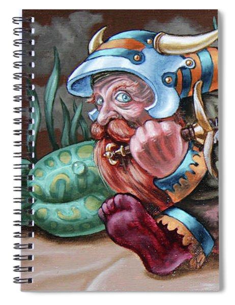 Sword Bearer Spiral Notebook