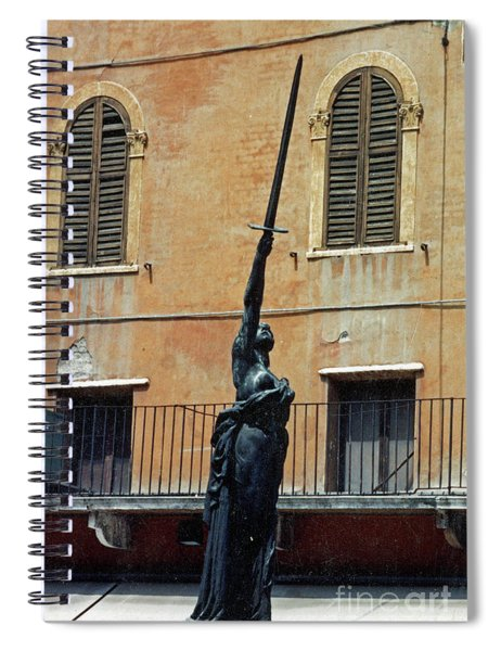 Sword Of Freedom Spiral Notebook