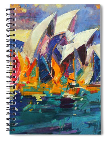 Sydney Flying Colours Spiral Notebook