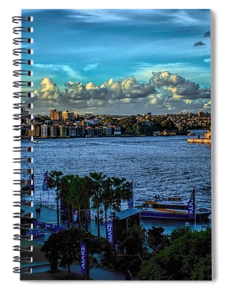 Sydney Harbor And Opera House Spiral Notebook