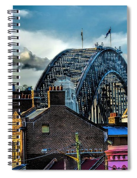Sydney Harbor Bridge Spiral Notebook