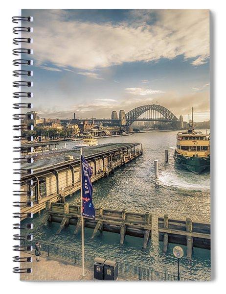 Sydney Harbor I Spiral Notebook